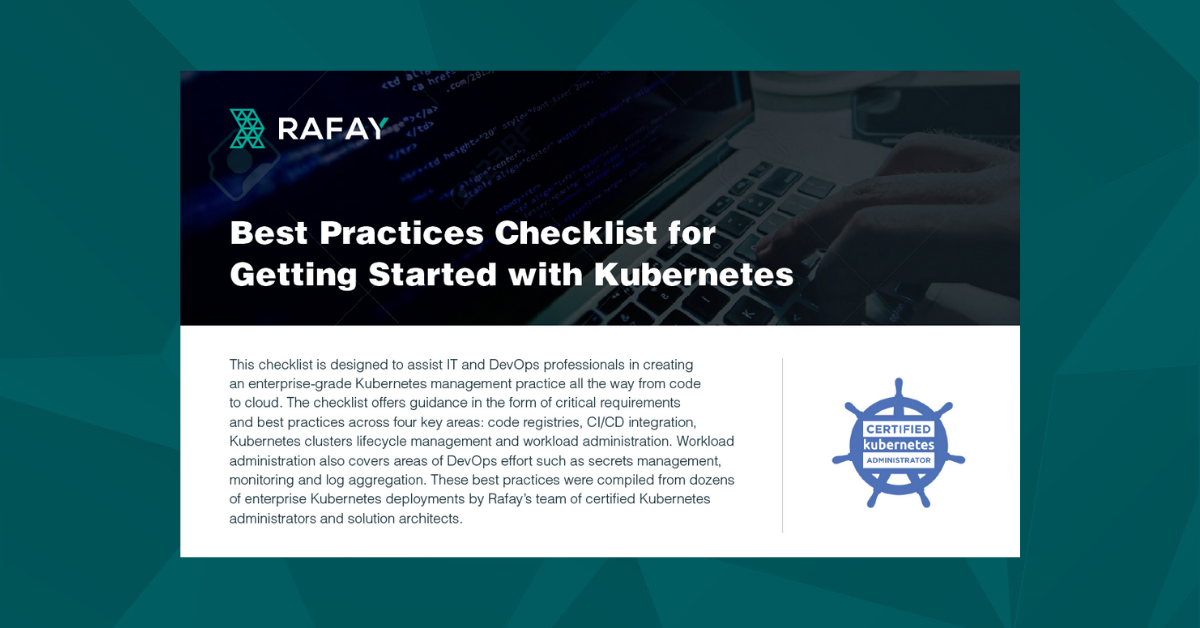 Image for Kubernetes Best Practices