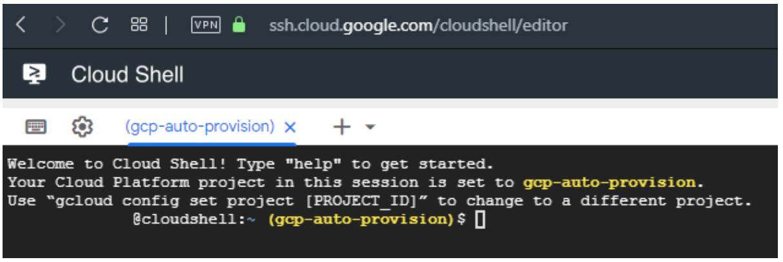 Cloud Shell 2