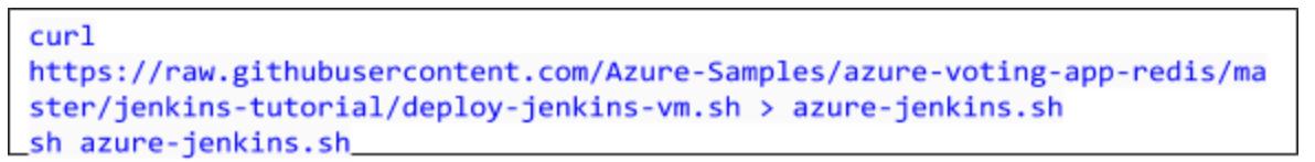 Deploy Jenkins to an Azure VM1