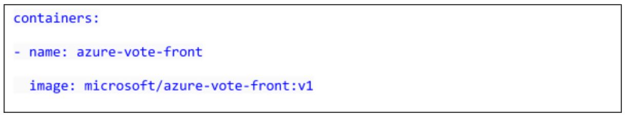 Run Apps in AKS- Update manifest file2