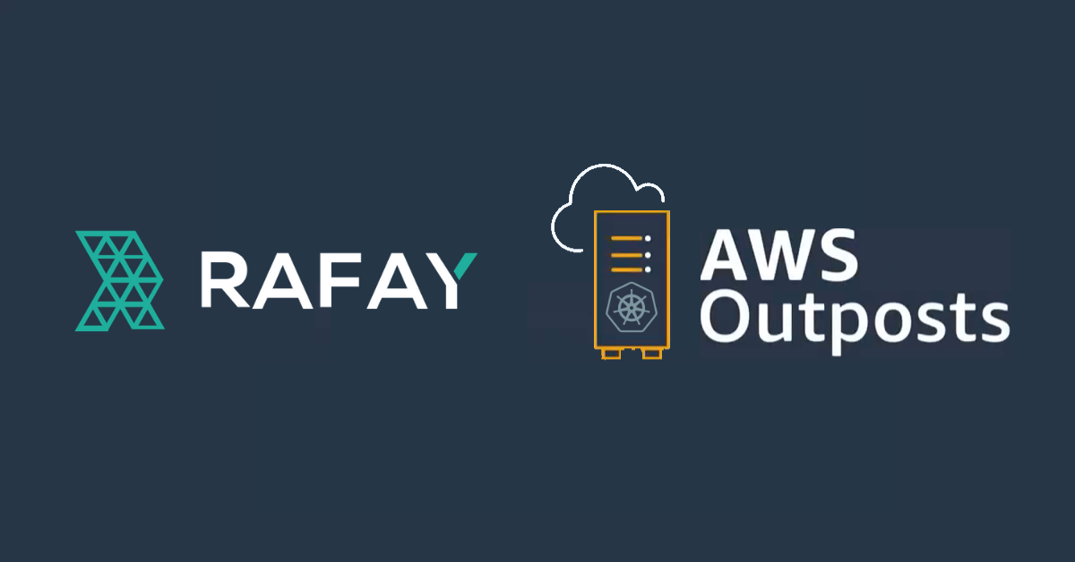 Image for Provision and Manage Amazon EKS on AWS Outposts with Rafay