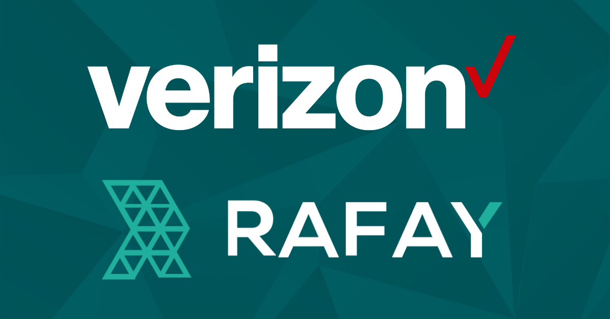 "Image for Verizon Partners with Rafay Systems to Power Cutting-""Edge"" Application Kubernetes Platform"