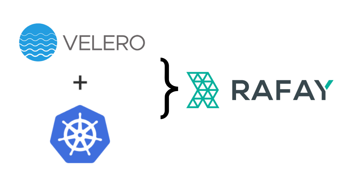 Image for Kubernetes Cluster Backup & Restore with Velero and Rafay