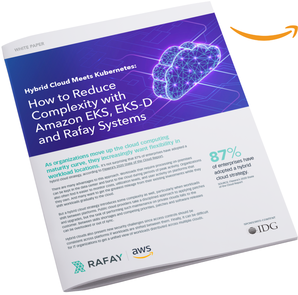 image for Hybrid Cloud Meets Kubernetes: How to Reduce Complexity with Amazon EKS and Rafay